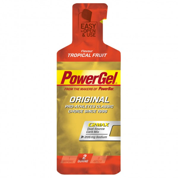PowerBar - Powergel Tropical Fruit - Gel énergétique
