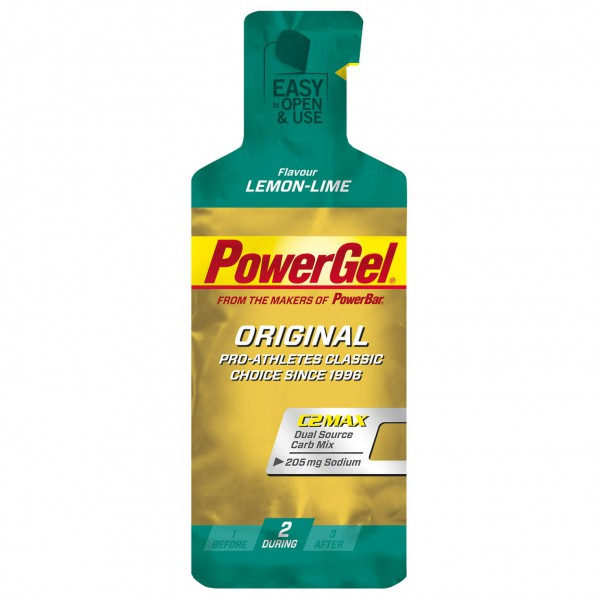 PowerBar - Powergel Lemon Lime - Energiegel
