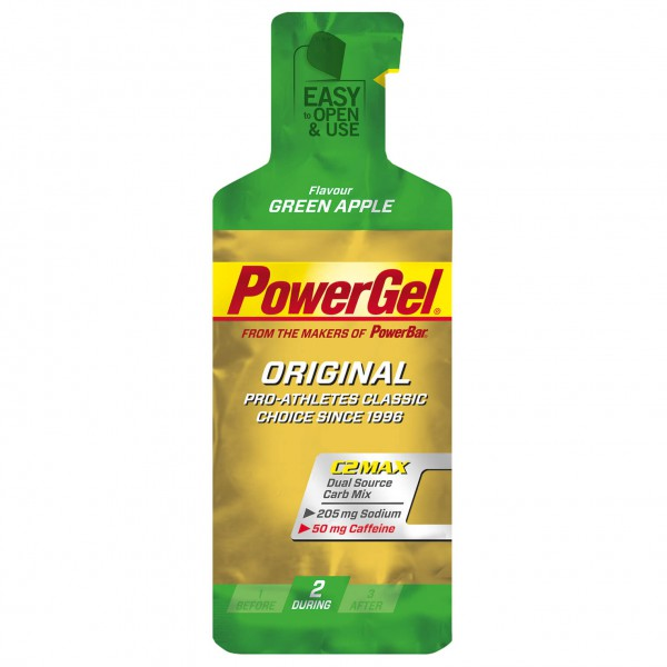 PowerBar - Powergel Grüner Apfel & Koffein - Energy bar