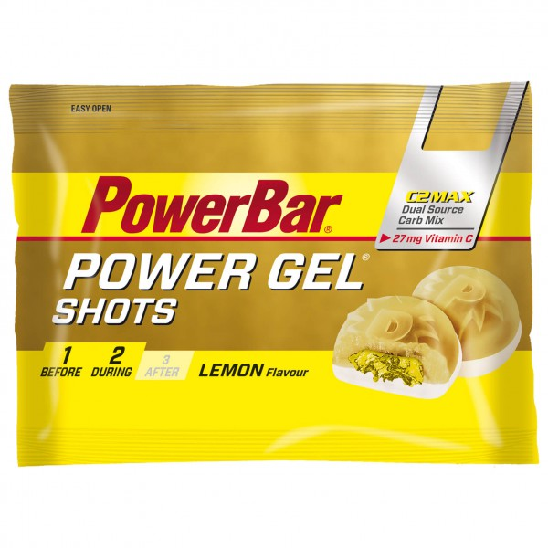 PowerBar - Powergel Shots Lemon & Vitamin C - Energiageeli