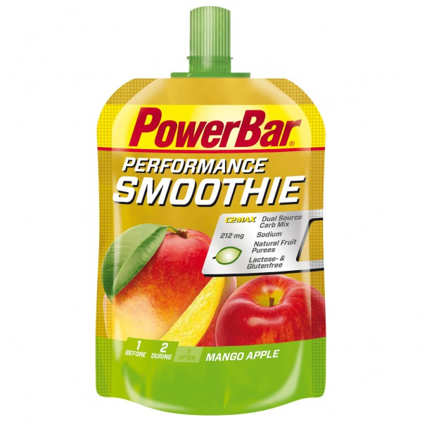 PowerBar - Performance Smoothie Mango Apple - Energiageeli