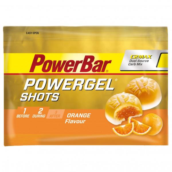 PowerBar - PowerGel Shots Orange - Gel énergétique