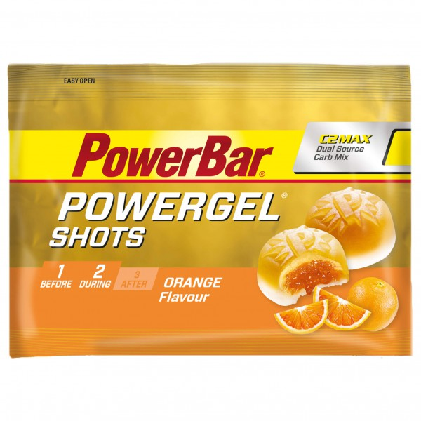 PowerBar - PowerGel Shots Orange - Energiegel