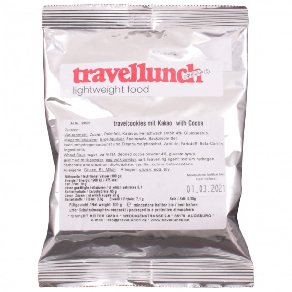 Travellunch - Travelcookies Kakao