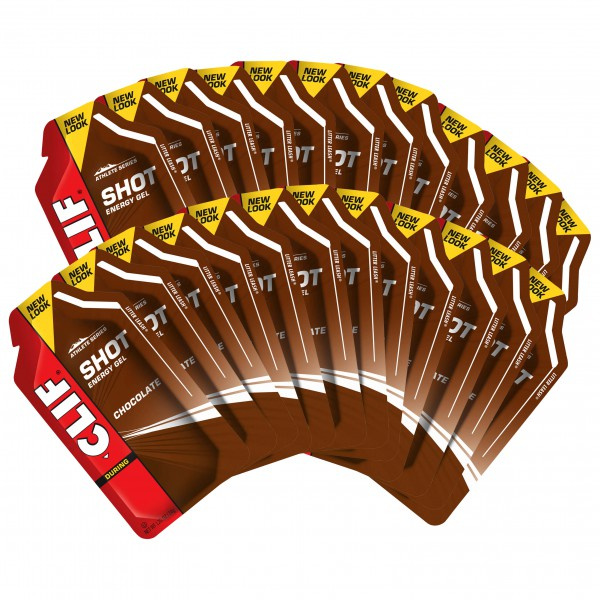 Clif Bar - Shot Gel Chocolate - Energiageeli