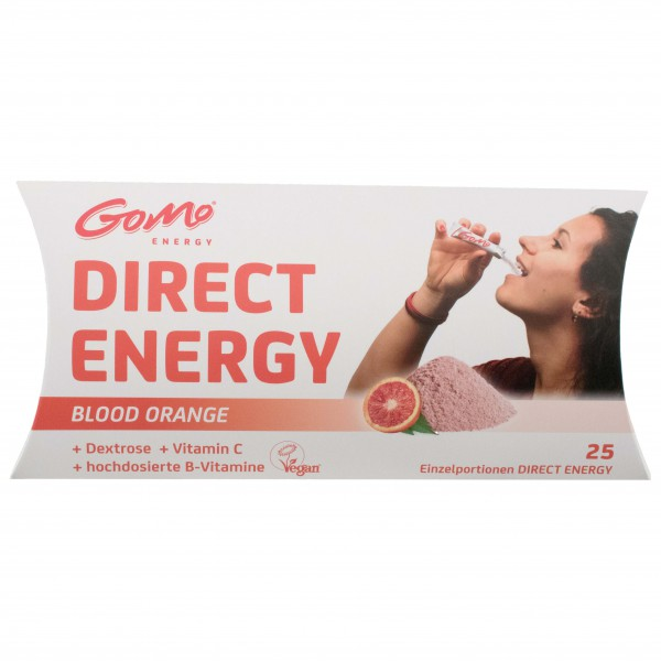 GoMo - Direct Energy Blood Orange + Vitamine