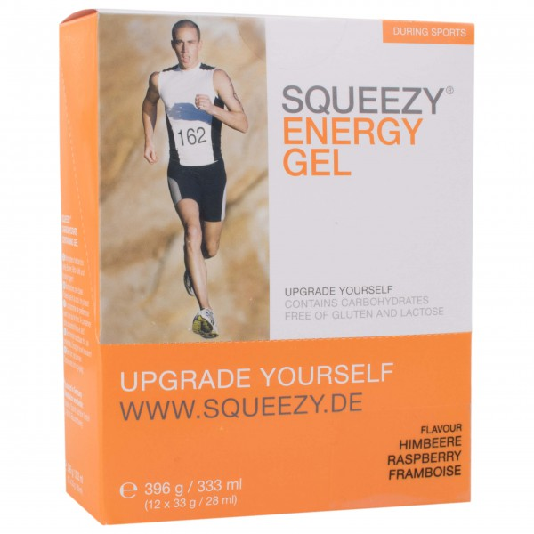 Squeezy - Energy Gel Himbeere - Energy gel