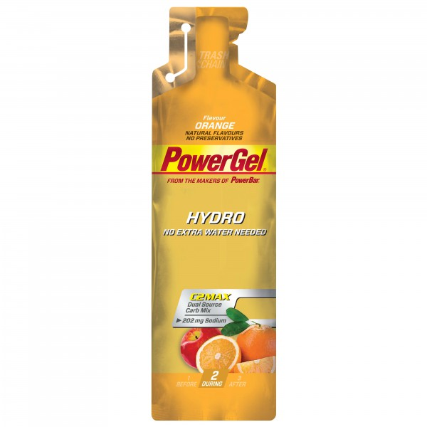 PowerBar - PowerGel Hydro Orange - Gel énergétique