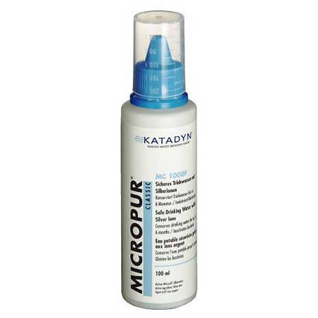 Katadyn - Micropur Classic MC 1000F - Wasserdesinfektion