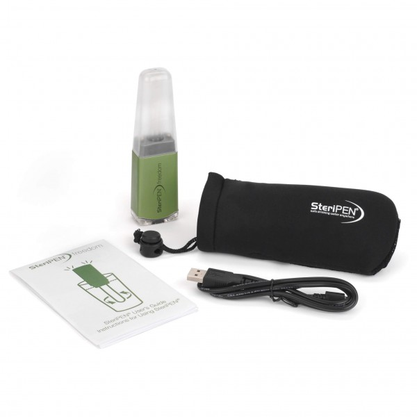 Steripen - Freedom Pack - Ensemble pour filtre à eau