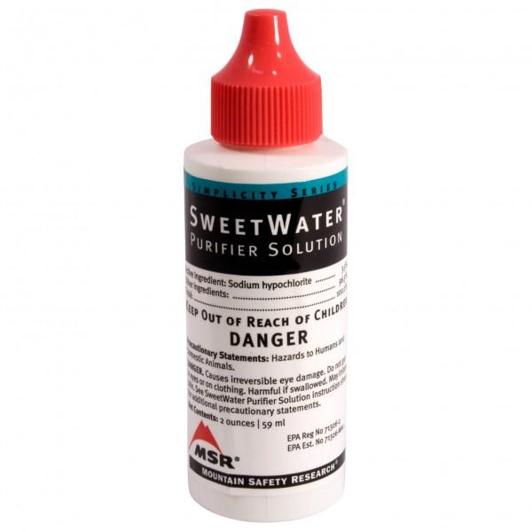 MSR - Sweet Water Purifier Solution