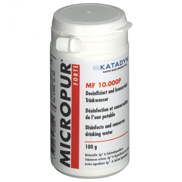Katadyn - Micropur Forte MF 10'000P - Entkeimungspulver