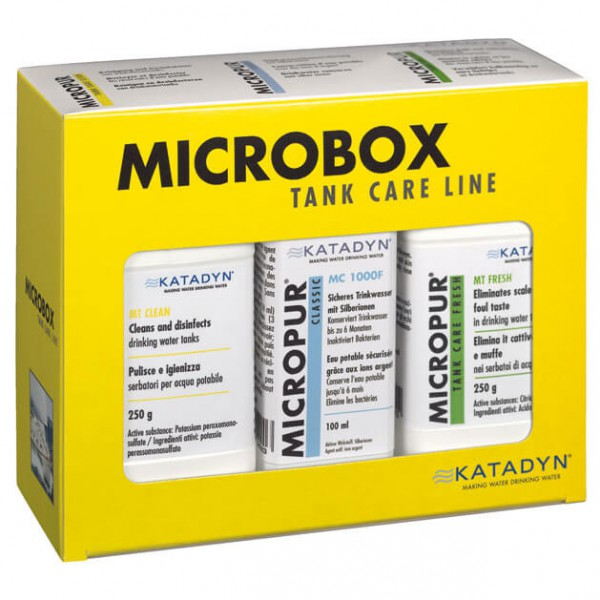 Micropur - Micropur Tankline MT Box - Vedenpuhdistinsarja