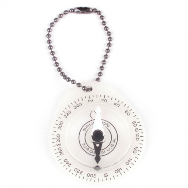 Brunton - Glowing Key Ring Compass - Compass