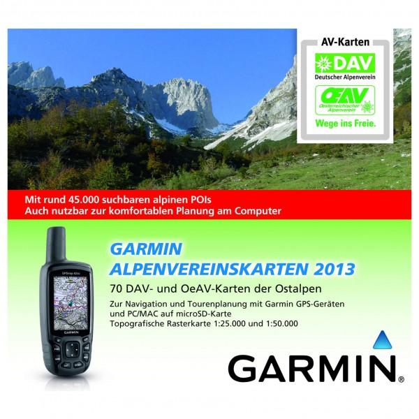 Garmin - Alpenvereinskarten 2013