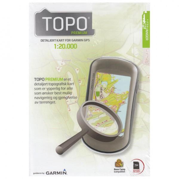 Garmin - Topo Norway Stavanger Premium 1