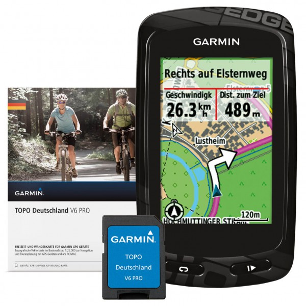 Garmin - Edge 810 + Topo Deutschland V6 Pro Bundle
