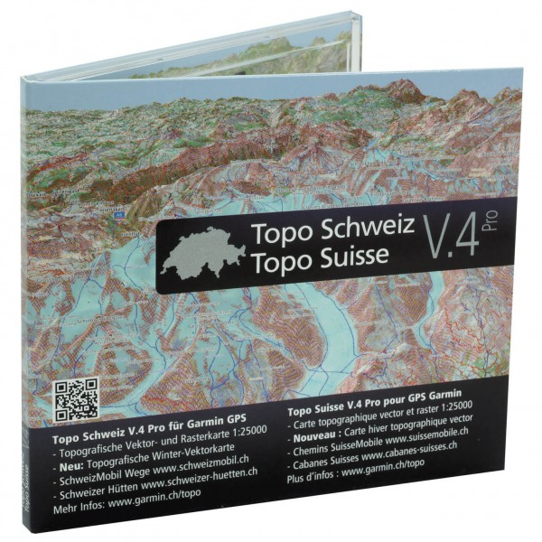 Garmin - Topo Schweiz V4 Pro