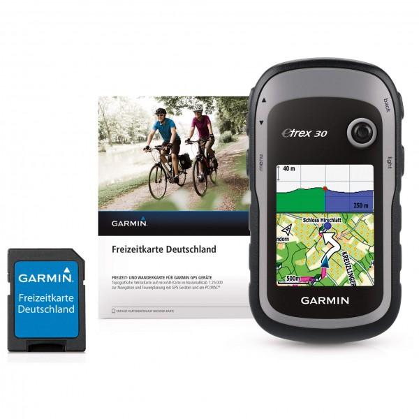 Garmin - eTrex 30 + Freizeitkarte Deutschland - GPS-Gerät