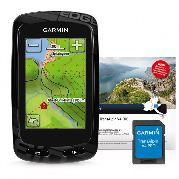 Garmin - Edge 810 + Topo Transalpin V4 Pro Bundle - GPS-apparaat