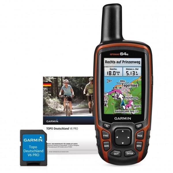 Garmin - GPSMap 64S + Topo Deutschland V6 Pro Bundle