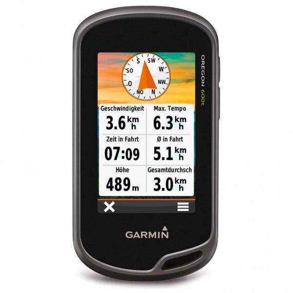 Garmin - Oregon 600T inkl. Freizeitkarte Europa - GPS device