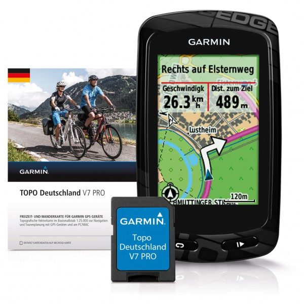 Garmin - Edge 810 + Topo Deutschland V7 Pro Bundle