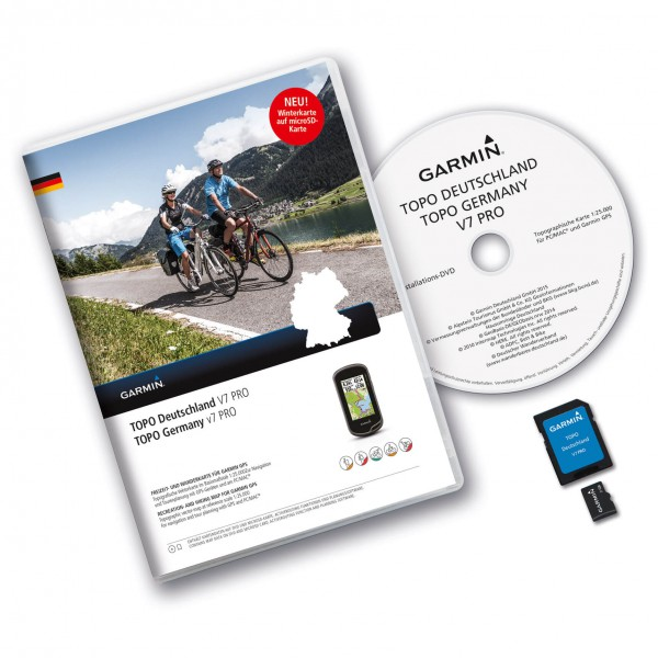 Garmin - Topo Deutschland V7 Pro Gesamt DVD / MicroSD