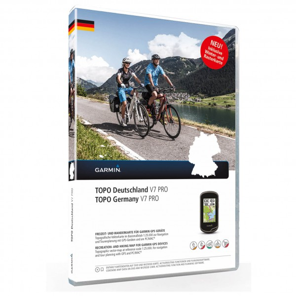 Garmin - Topo Deutschland V7 Pro Update DVD - Map update