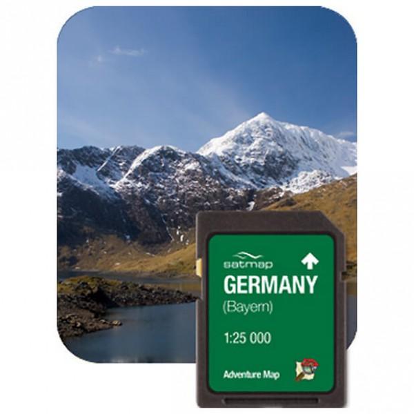 Satmap - Bayern (ADV 1:25k) - SD-kaart