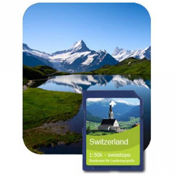 Satmap - Bern (Swisstopo 1:50k) - SD-kaart