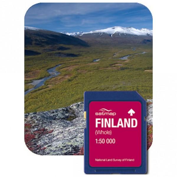 Satmap - Finnland Gesamt (1:50k) - Carte SD