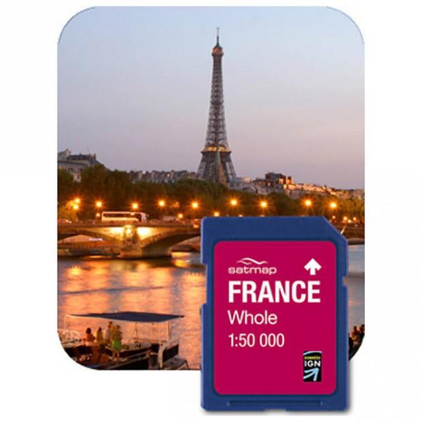 Satmap - Frankreich Gesamt (IGN 1:50k) - Carte SD