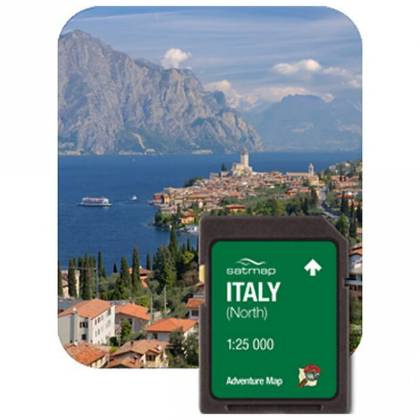 Satmap - Italien Norden (ADV 1:25k) - SD card