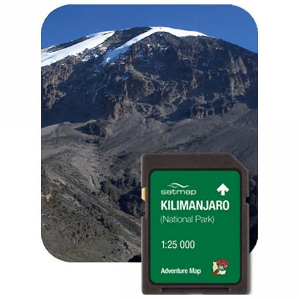 Satmap - Kilimanjaro Gesamt (ADV 1:25k) - SD card
