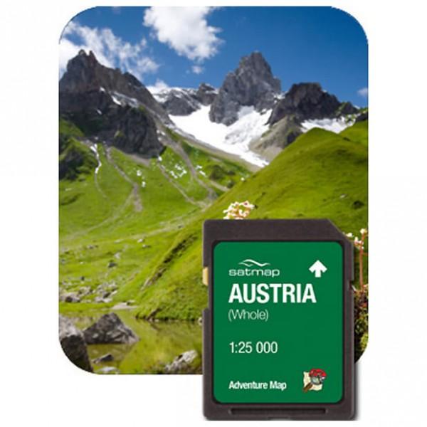 Satmap - Österreich Gesamt (ADV 1:25k) - SD-muistikortti