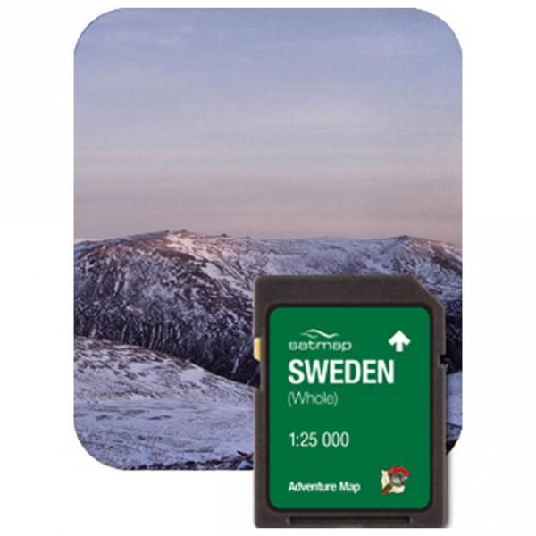 Satmap - Schweden (ADV 1:25k) - Carte SD