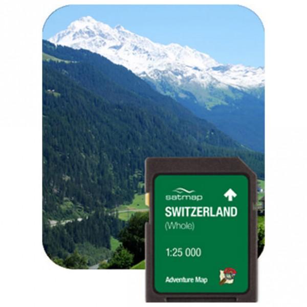 Satmap - Schweiz Gesamt (ADV 1:25k) - Carte SD