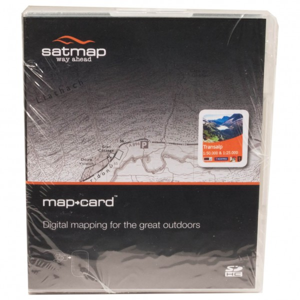 Satmap - Transalp - SD-muistikortti