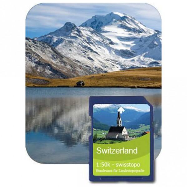 Satmap - Wallis (Swisstopo 1:50k) - SD-kaart