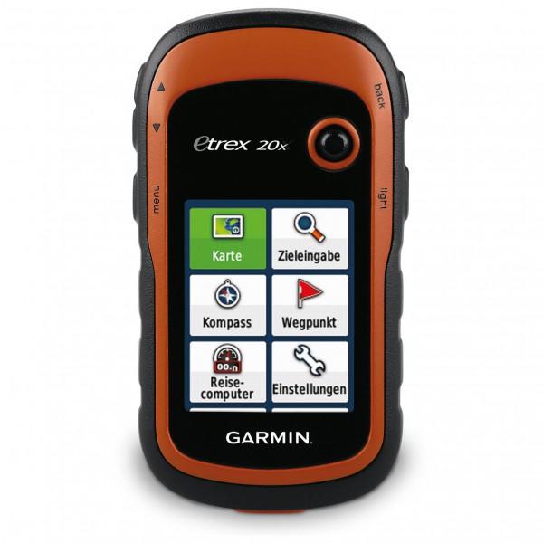 Garmin - eTrex 20x TopoActive Westeuropa - GPS-laite