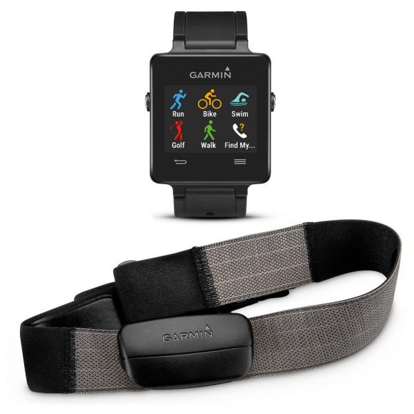 Garmin - Vivoactive HRM Bundle - GPS device
