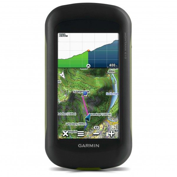 Garmin - Montana 610 + Topo Deutschland V7 Pro Bundle - GPS-Gerät