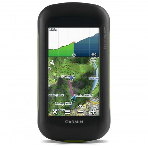 Garmin - Montana 610 + Topo Deutschland V7 Pro Bundle - GPS-laite