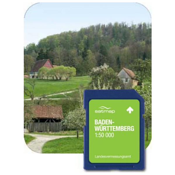 Satmap - Baden-Württemberg ADV 1:50K - Wanderkarte