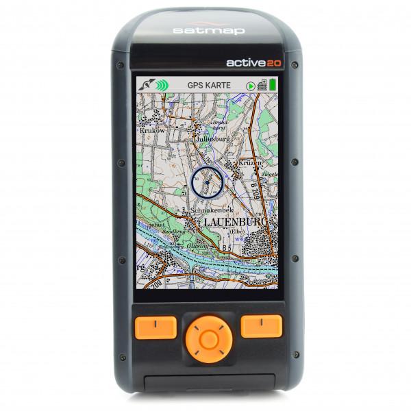 Satmap - Active 20 DE Platinum Edition (100k, 50k, 25k) - GPS device