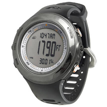Techtrail - Axio Max Stainless Steel IPT - Höhenmesser-Uhr