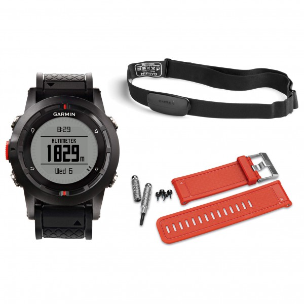 Garmin - fenix Performer Bundle - GPS-Uhr