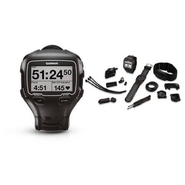 Garmin - Forerunner 910XT Triathlon Kit - Multi-function watch