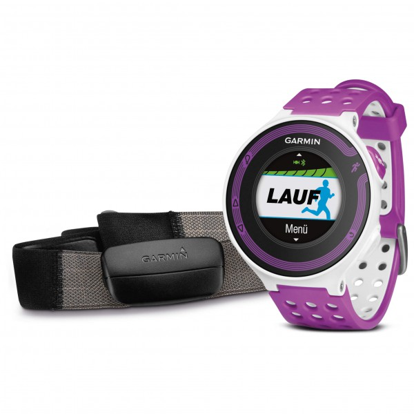 Garmin - Forerunner 220 HR Bundle - Multi-function watch
